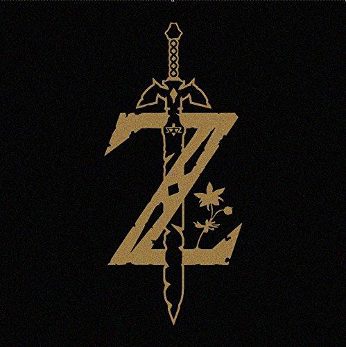 Legend of Zelda Breath of the Wild Logo GOLD Decal Sticker (cars, laptops, windows)