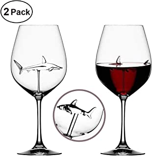 Best wine glass with glass shark Reviews