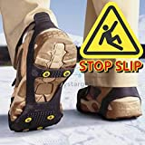 Ice Grippers Non Slip Ice & Snow Grips, L = 6 to 8