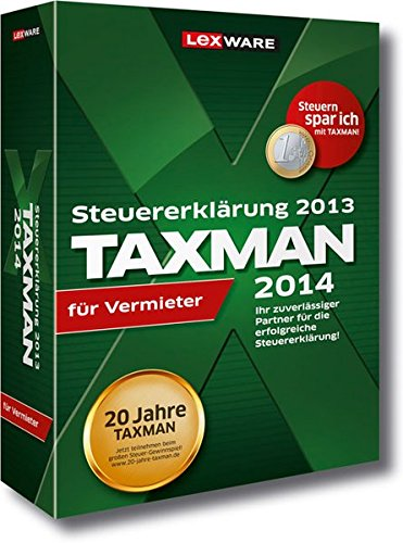 TAXMAN 2014 für Vermieter (für Steuerjahr 2013)