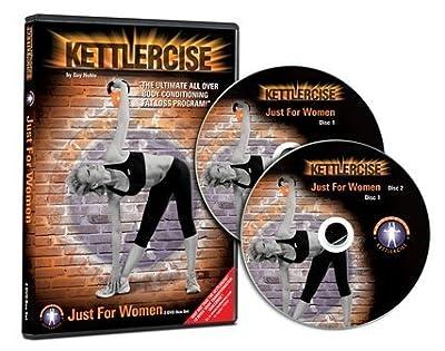 Kettlercise Just for Women Vol I, 2 Disc DVD Set, Ultimate Kettlebell Fat Loss & Toning Programme from Kettlercise