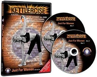 Kettlercise Just for Women Vol I, 2 Disc DVD Set, Ultimate Kettlebell Fat Loss & Toning Programme