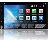 Tristan Auron BT2D7018A-DVD Autoradio mit Navi - Android 9.0 I 7'' Touchscreen, Bluetooth Freisprecheinrichtung, Quad Core, CD DVD Laufwerk, USB/SD, I OBD 2 DAB+ fähig