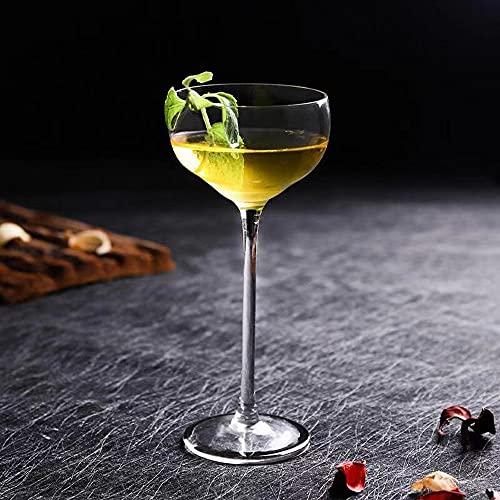 Vaso de cóctel creativo de 150 ml para beber manhattans, Martini y vino, diseño moderno y elegante para fiestas