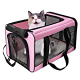 Best Cat Carrier - VIEFIN Pet Carrier for Small Medium Cats Dogs,Airline Review