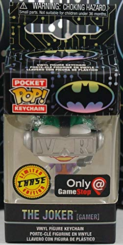 Funko Pocket Pop! Keychain: The Joker Gamer Limited Edition Chase Exclusive