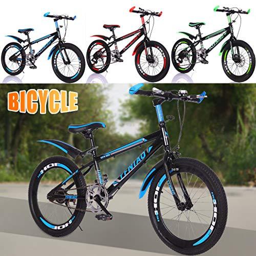 Longra 24 Zoll Fahrrad Mountainbike eine einstufige Scheibenbremse Studentenauto Kinder Jungen City Fahrrad
