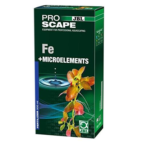 JBL ProScape Fe plusMicroelements 2111200 Basis Pflanzendünger für Aquascaping, 500 ml