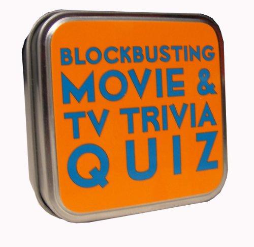 BLOCKBUSTING MOVIE & TV TRIVIA QUIZ TABLETOP (VERSION ANGLAISE)