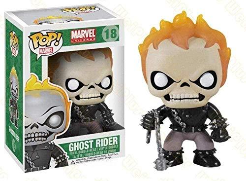 KUANDARMX Modelo de muñeca Funko Pop Ghost Rider Ornament