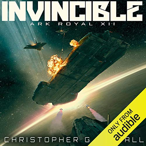 Invincible     Ark Royal, Book 12              By:                                                                                                                                 Christopher G. Nuttall                               Narrated by:                                                                                                                                 Ralph Lister                      Length: 13 hrs and 34 mins     292 ratings     Overall 4.6