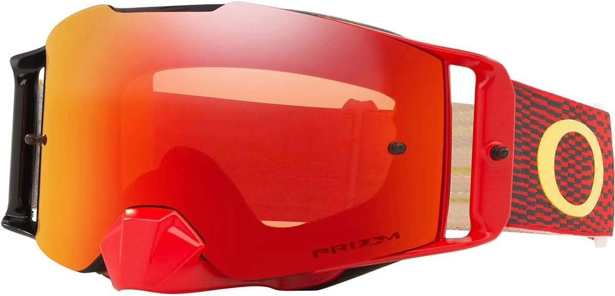 Philadelphia Mall Oakley Front Line MX Goggles with Lens Equalizer In stock Prizm Yell RED
