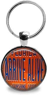 Vintage Arrive Alive Key Chain