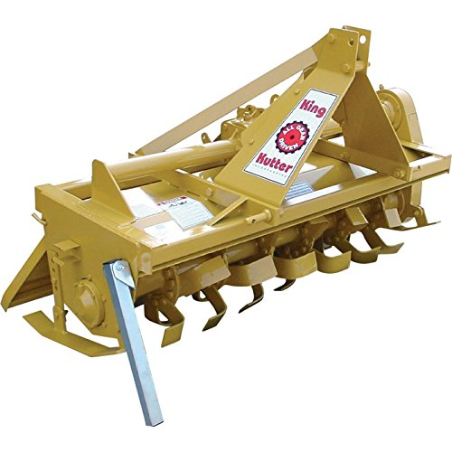 King Kutter Gear-Driven Rotary Tiller - 5ft....