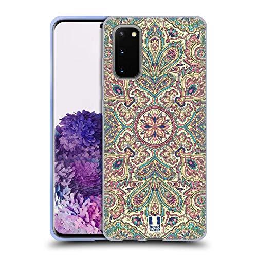 Head Hülle Designs Blass Komplex Paisley Soft Gel Handyhülle Hülle Huelle & Passende Designer Hintergr&bilder kompatibel mit Samsung Galaxy S20 / S20 5G