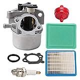 799866 Carburetor + 491588 491588S Air Filter for 190CC 725EX 790845 799871 796707 794304 Engines Toro Craftsman Troy Bilt 6.75 Lawn Mower