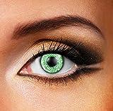Edit verde 3 Ton Contacto lente (par) 90 días objetivos