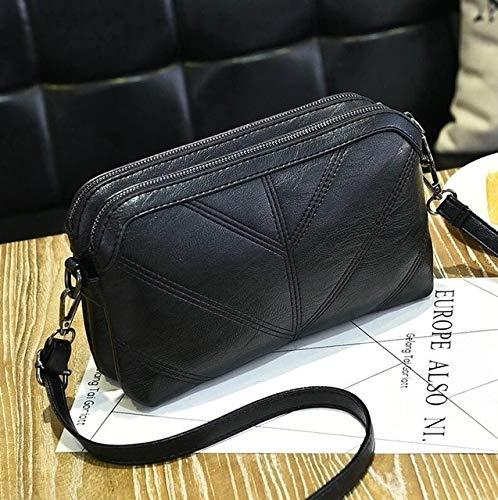 25x7x15m Black 2020 Women Handbag Luxury Messenger Bag Soft PU Leather Shoulder Bag Fashion Ladies Crossbody Bags Female Bolsas