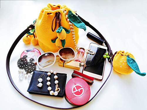 2020 Captive Crochet Fortune Fruits Collection para coleccionistas - Bolso bandolera hecho a mano de Loquat