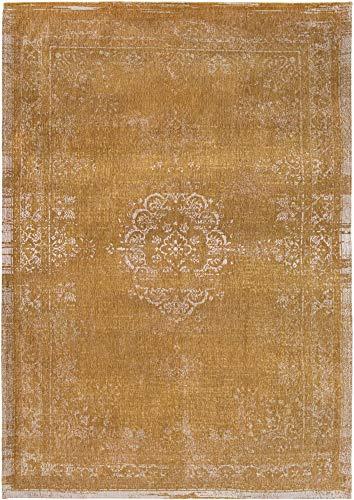 Louis de Poortere Teppich Fading World Medaillon 9145, Frühlingsmoos, 140 x 200 cm