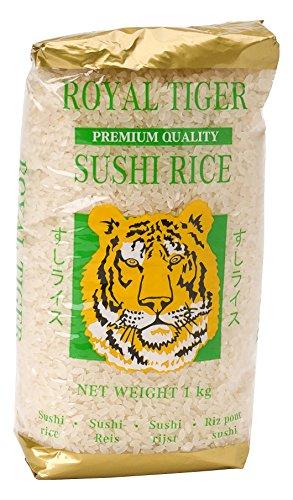 Royal Tiger Reis für Sushi, 12er Pack (12 x 1 kg)