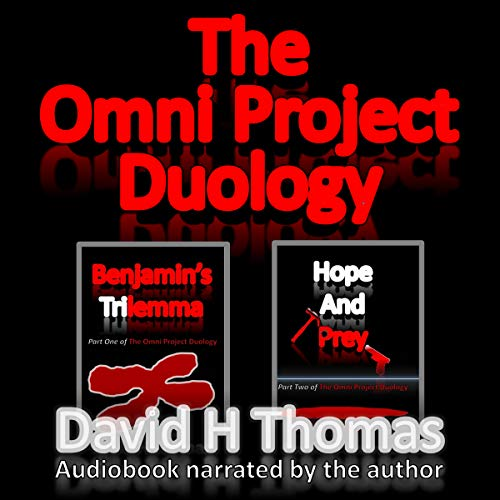 The Omni Project Duology audiobook cover art