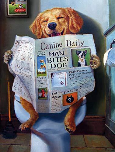Buffalo Games - Dog Gone Funny - 750 Piece Jigsaw Puzzle Multicolor, 24'L X 18'W