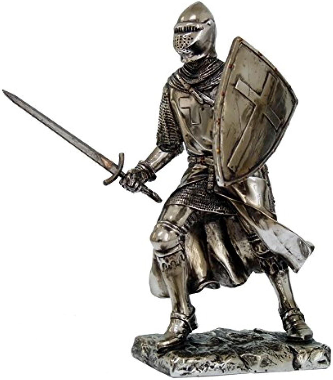 Crusader Knight Fighting 7  Statue 8714