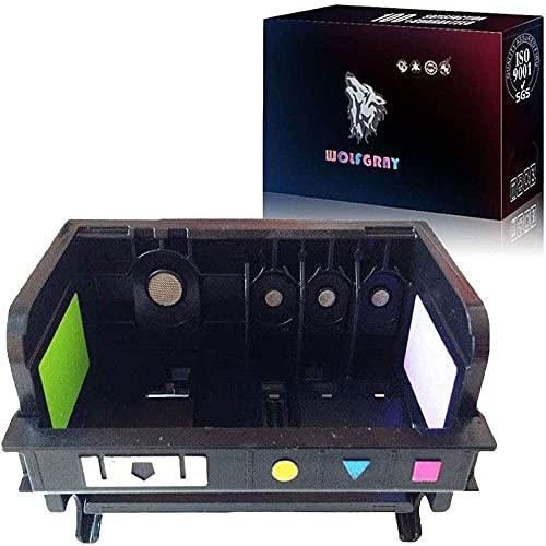 Wolfgray 920 Cabezal de Impresión Compatible para 920 Cabezal de Impresión con el Chip más Reciente Compatible para Officejet 6000 6500A 6500 7000 7500 7500A E709 E710 All-in-One Impresora