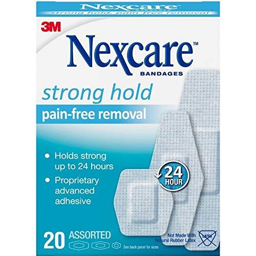 Nexcare Sens Skin Bandage, 20 Count