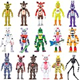 New Featured by Five Nights at Freddys Action Figures | Combination 2021 Set of 16 PCS | FNAF Action Figure Toys | About 6 inches Toy Dolls | Ideal Collection and Gift for Kids