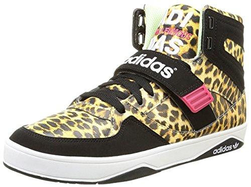adidas Damen Basket Montantes Space Diver 2.0 Womann High-Top, Leopard, 39 1/3 EU