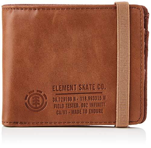 Element Endure L. II Wallet for Men, Reisezubehör für Herren, Braun - braun - Größe: One Size