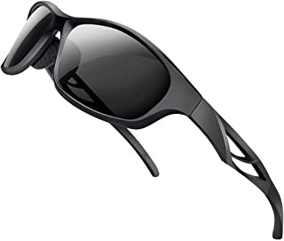 Polarized Sports Sunglasses for Men and Women -...