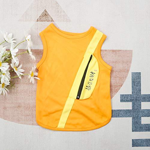 Pet Winterkleidung Rucksack plus Samt gepolstert Katze klein und mittelgroß Hundekleidung schräge Tasche Style orange Gong Xi Fa Cai XXL