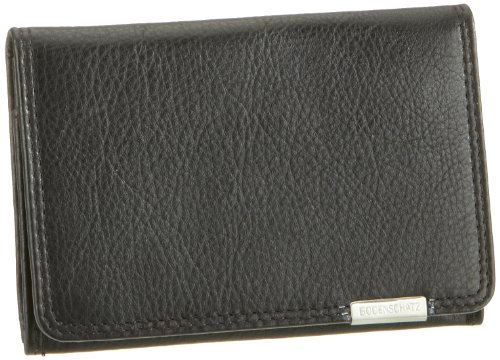 Bodenschatz Unisex-Erwachsene Kings Nappa Portemonnaies, Schwarz (black), 8x11x1 cm