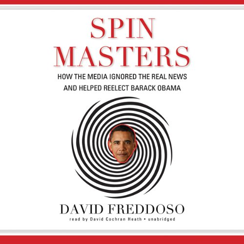 Spin Masters audiobook cover art