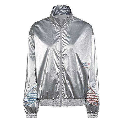 adidas GT8434 JAPONA TT Pullover Donna Silver Metallic 44