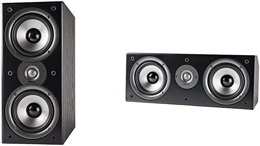 Polk Recommended Audio Monitor 40 Series Black Speaker Department store Bookshelf Pair II