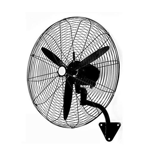 NBSY Ventilador de pared industrial, ventilador comercial, ventilador circulador de aire; (negro), 55 cm, 68 cm, 78 cm. Volumen de aire grande, adecuado para comercial, fábrica, hogar