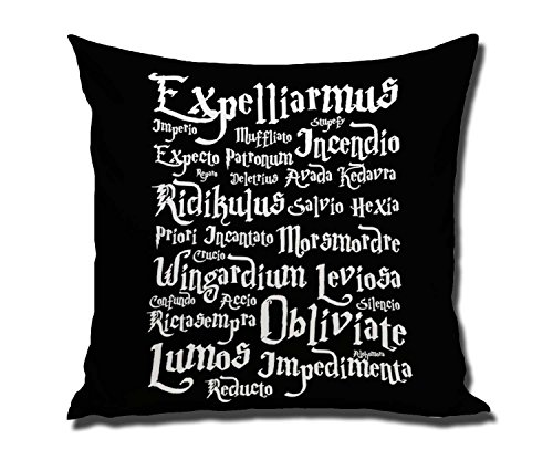 DSL&HXY 18 x 18 Inches Decorative Cotton Linen Square Throw Pillow Cas