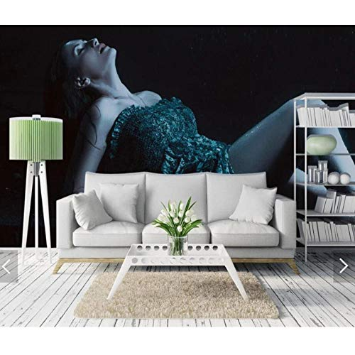 3D Sex Girl Wallpaper Mural,HD Printed Photo Wall Murals for Bedroom Figure Wall Paper,Roll Wall Coverings 280 cm (W) x 180 cm (H)