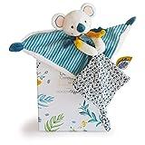Doudou et Compagnie - Doudou Koala - Doudou Plat - Bleu - 25 cm - Yoca le Koala - DC3668