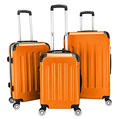 Travel Luggage 3 Piece Set 20'' 24'...