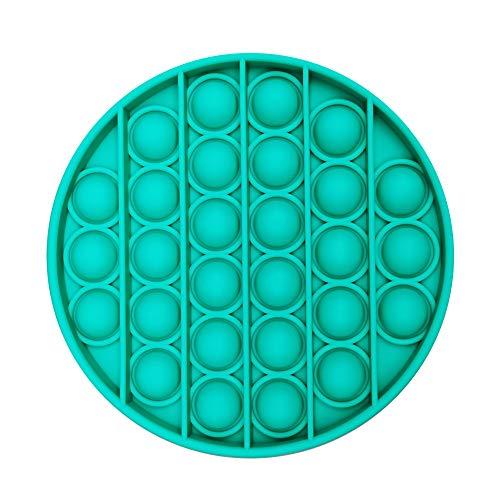 Fullbeing Silicona Sensorial Fidget Juguete, Push Pop Bubble Sensory Toy, Autismo Necesidades Especiales Aliviador del Antiestrés del Juguetes para Niños Adultos Relajarse