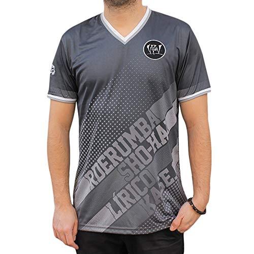 NPNG Camiseta Soccer VIOLADORES del Verso GENIOS99 VDV Unisex, de Polyester en Color Negro