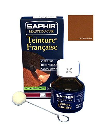 SAPHIR TEINTURE FRANCAISE Cuir Liquide (50 ml FAUVE 19)