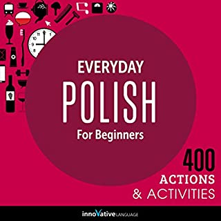 Everyday Polish for Beginners - 400 Actions & Activities audiobook cover art