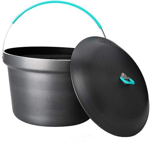Gyl 3L Pot de Cuisine en Aluminium pour 3-4 Personnes, Métal, gris, 9  9.9IN