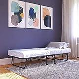 DHP Guest 4 Folding Bed Mattress, Twin, Black